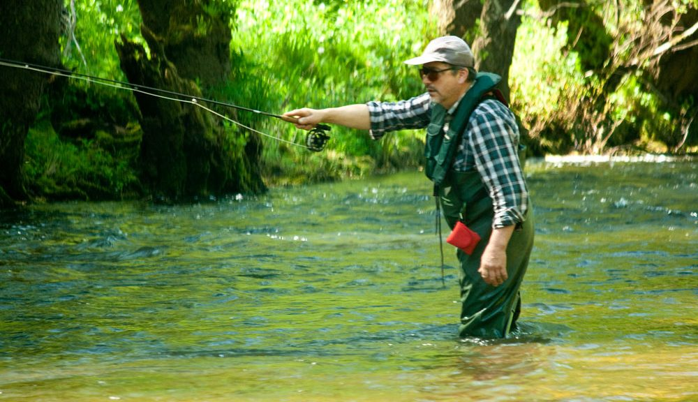 Fly fishing lessons peaks fly fishing for Fly fishing classes