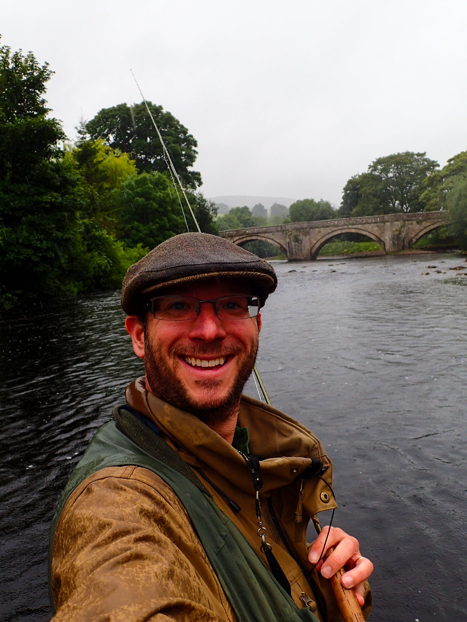 Fly Fishing The Swale On A Perfect Dales Day