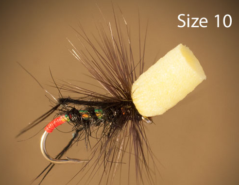 Popper hopper fishing fly