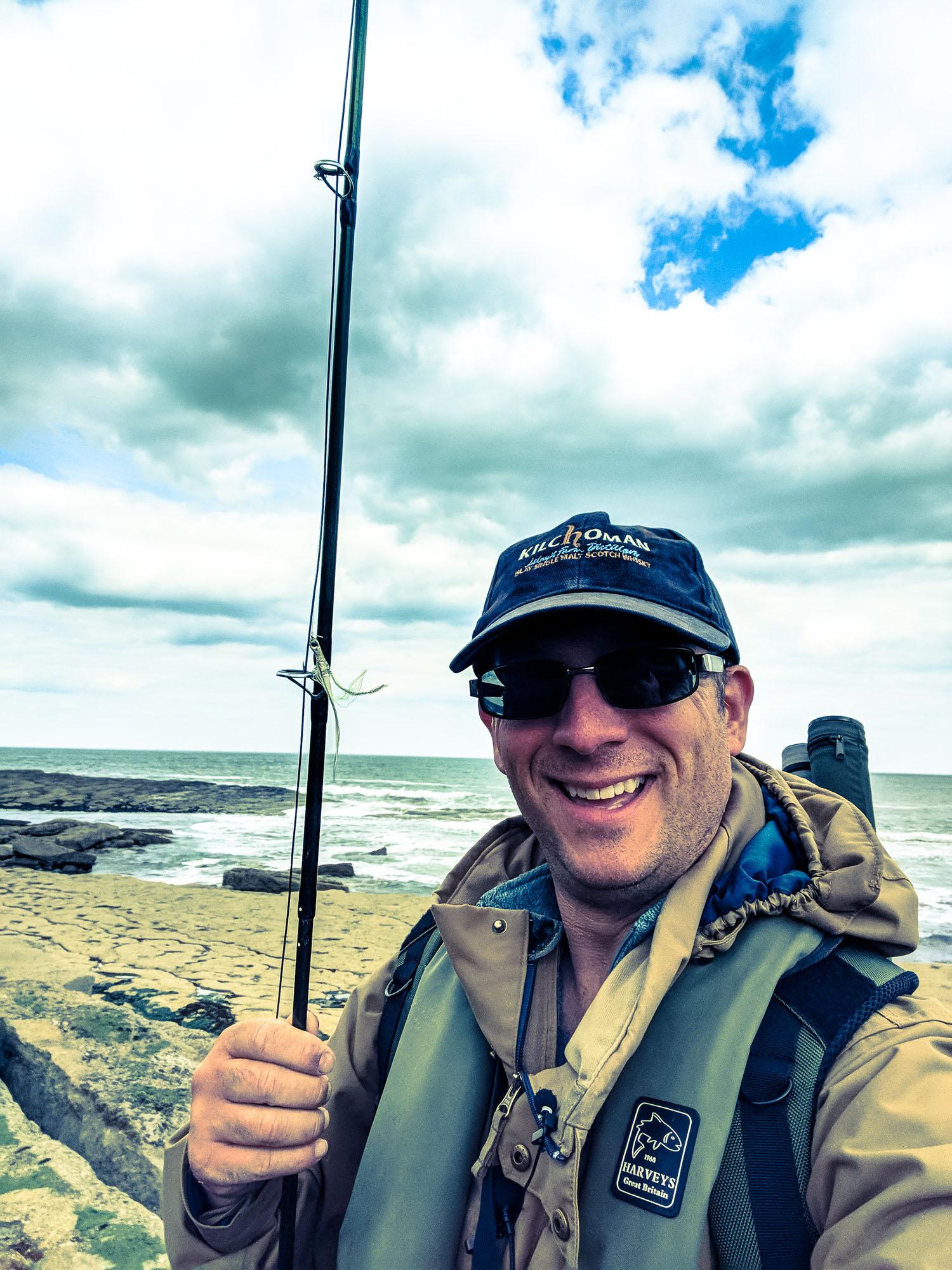 UK Saltwater Fly Fishing At Filey Brigg