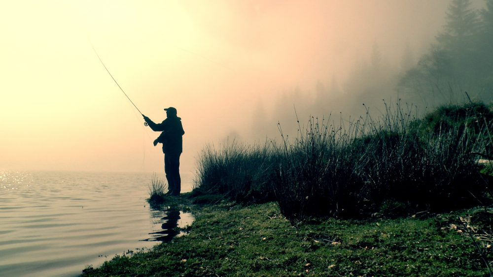 Fly Fishing Static Flies On Small Winter Still Waters